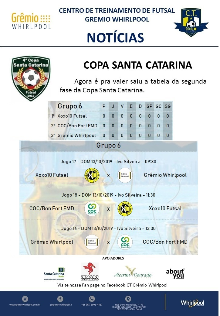 ct Copa Santa Catarina